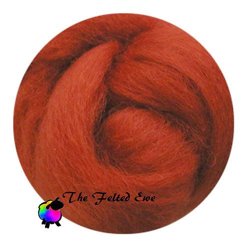 DR6 Cinderellas Pumpkin Wool Roving