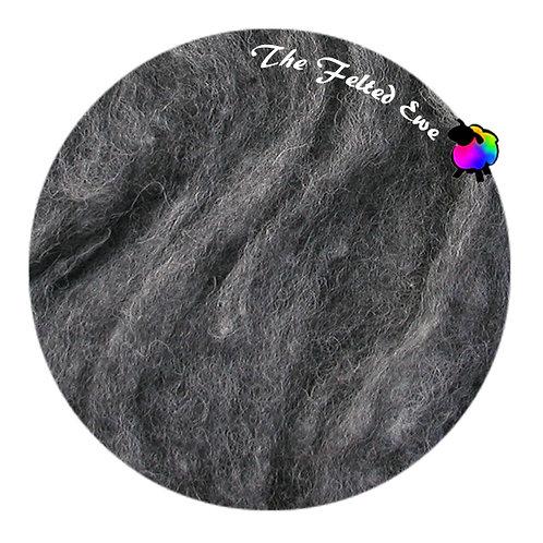 HFB28 Granite Heathered Wool Fluffy Batt