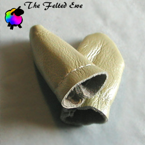 Leather Finger Guards - Sold as a pair