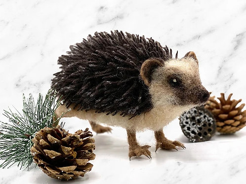 Hugo the Hedgehog Needle Felting Kit