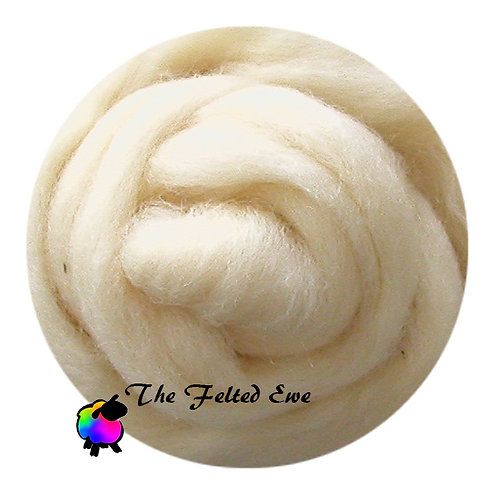 NR4 Au' Natural Carded Wool Roving