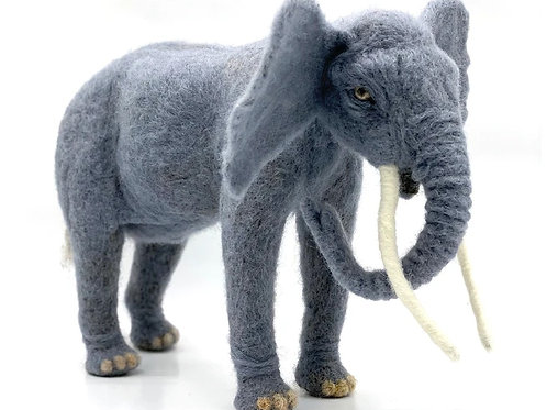 Elon the Elephant Needle Felting Kit