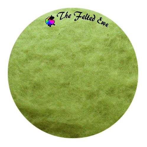 FB54 Green Apple Maori Wool Batt