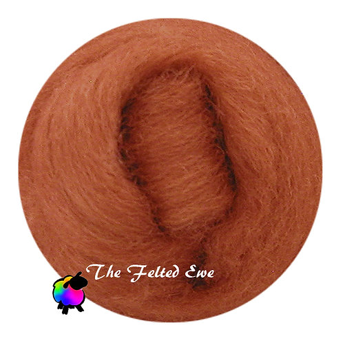 DR25 Copper Penny Wool Roving