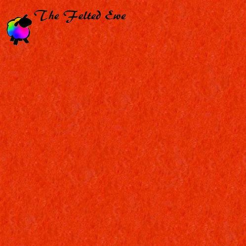 Dark Orange WoolFelt