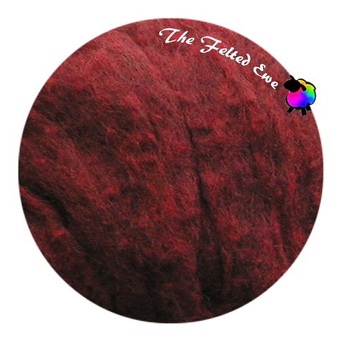 HFB9 Spice Heathered Wool Fluffy Batt