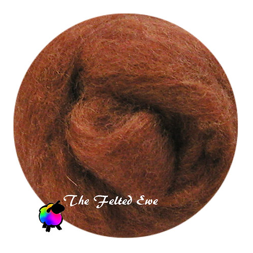 NR12 Crafty as a Fox Carded Wool Roving