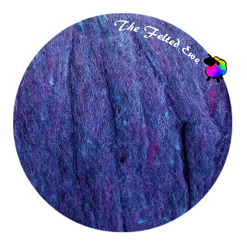 HFB50 Royalty Heathered Wool Fluffy Batt