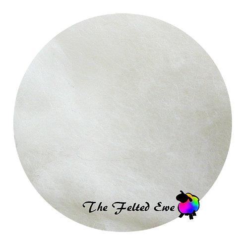 DR2 Polar Bear Carded Wool Batt