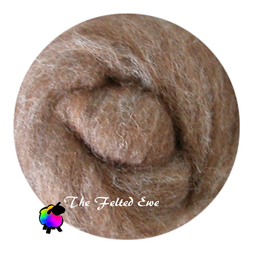 NR10 A Little Squirrely Carded Wool Roving