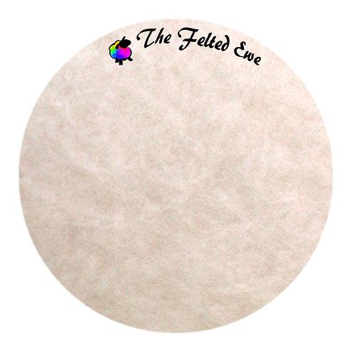 FB72 Vanilla Buttercream Maori Wool Batt