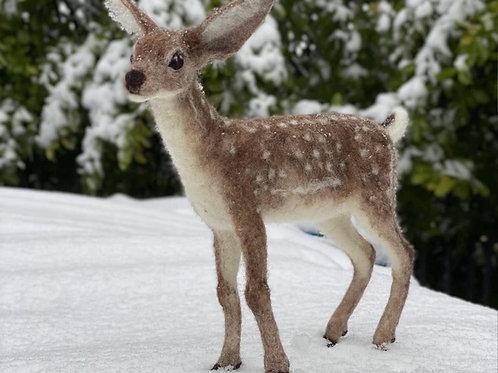 Dixie the Deer Needle Felting Kit
