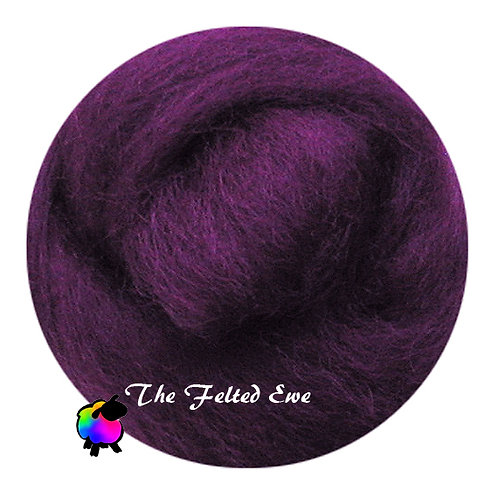 DR26 Boysenberry Jelly Wool Roving