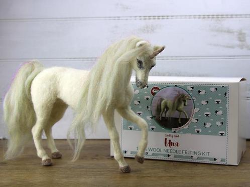 Una the Unicorn Needle Felting Kit