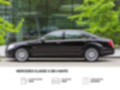 Mercedes S 350 4matic a noleggio