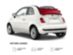 Fiat 500 C a noleggio