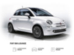Fiat 500 a noleggio