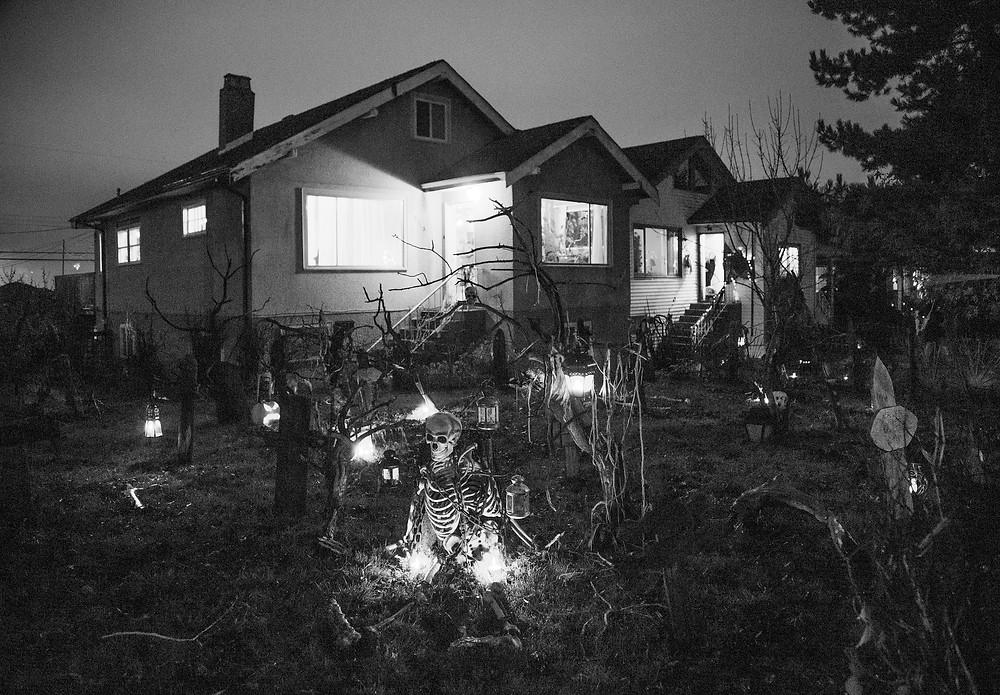 Trinity Street Halloween in Vancouver, British Columbia