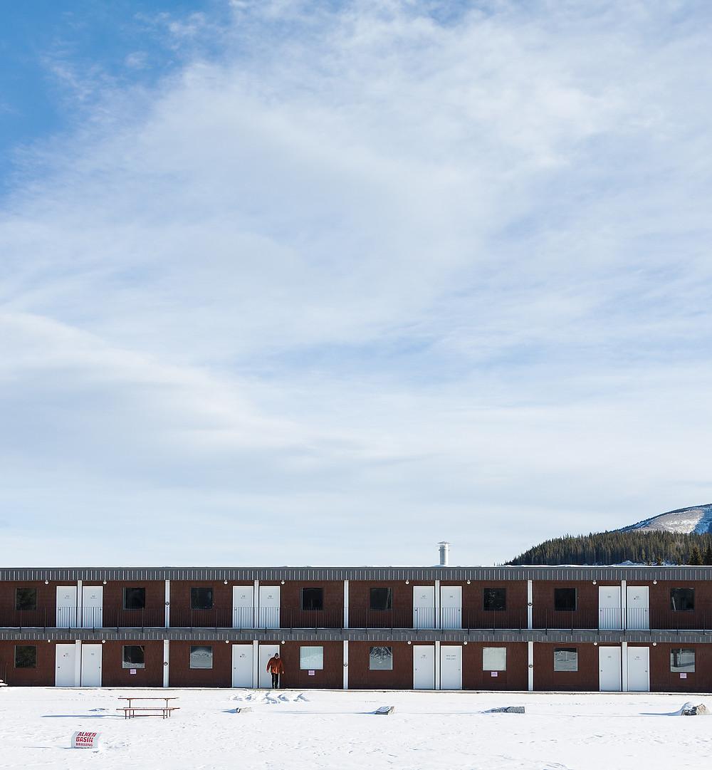 Motel in Nordegg, Alberta