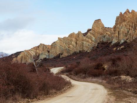 Clay Cliffs, Omarama, NZ