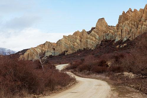 Clay Cliffs I (Horizontal)