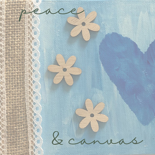 peace & canvas - one off project
