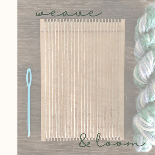 weave & loom - one off project