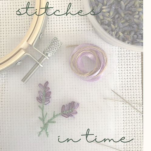 stitches in time - one off project