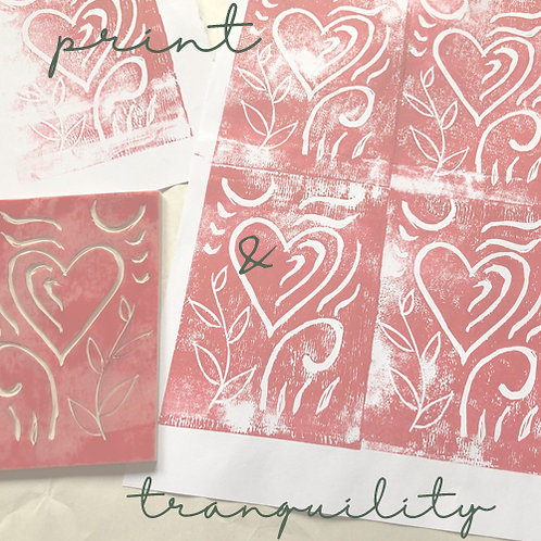 print & tranquility - one off project
