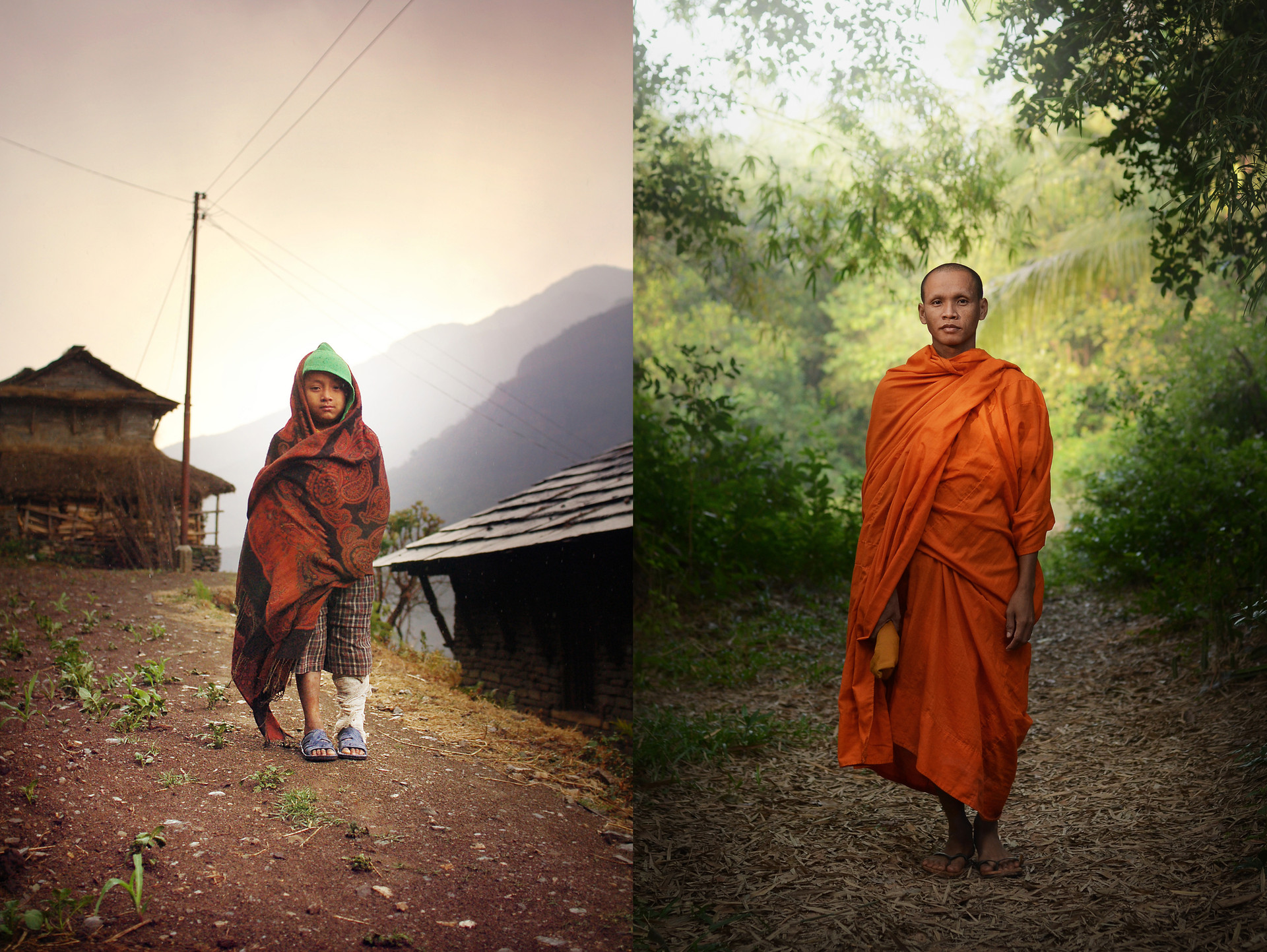 Népal-Cambodge