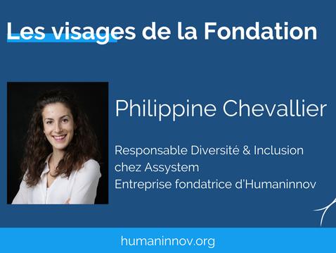Les visages de la Fondation : Philippine Chevallier