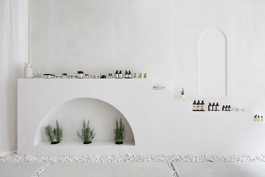 Maapilim Store North Wall by Craft & Bloom