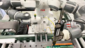 Cobot Streamlines ABB's Post-Test Process For LV Drives