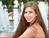 Katherine Bat Mitzvah