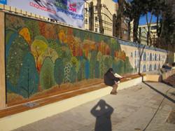 Mağlova Köprüsü Mozaik Çalışması