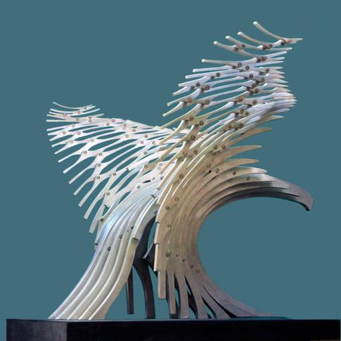 Kartal Heykeli Malzeme :Alüminyum Ölçüler : 80X65X56 cm