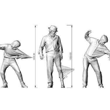 tasarım Ahmet Öğüt e ait projenin 3d modellemesi ve uygulaması Malzeme : Bronz