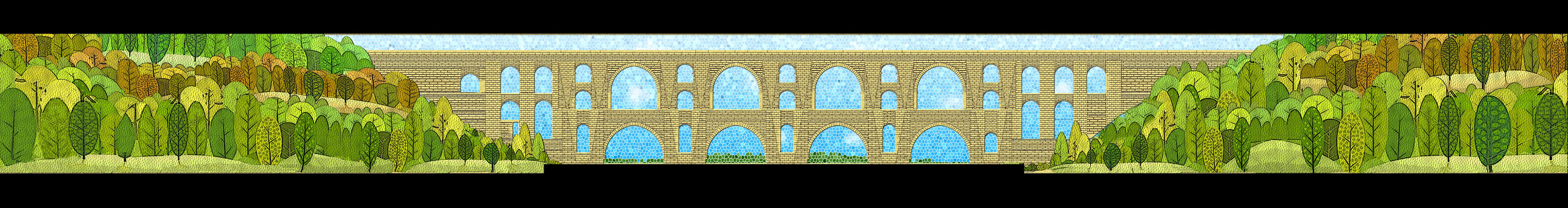 Mağlova Köprüsü Mozaik Projesi