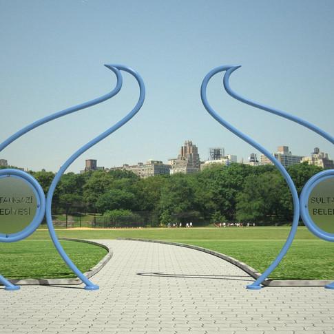 Park Kapı Tasarımları