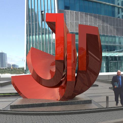 Torun Tower Logo Heykel Tasarımı alternatif öneri