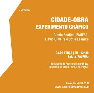 CIDADE-OBRA: EXPERIMENTO GRÁFICO