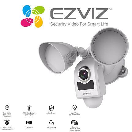 EZVIZ LC1 WiFi Outdoor Floodlight IP Cam