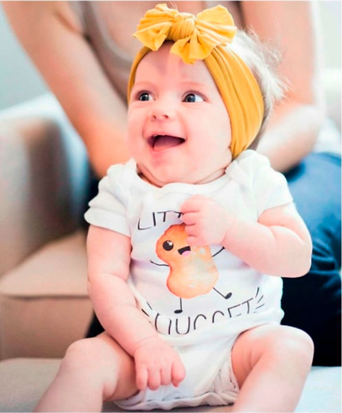 Little Nugget Onesie ®, Chicken Nugget Baby Shirt, Funny Baby Clothes, Food Baby