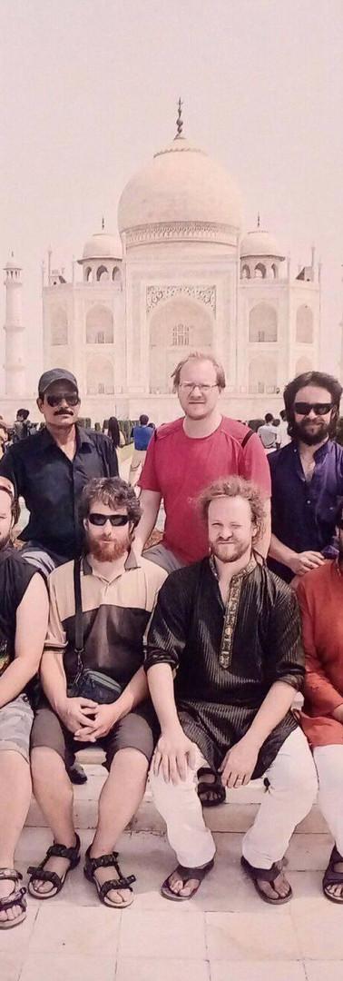 Homebwoyrasta u Taj Mahalu