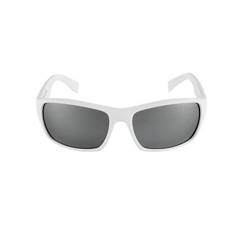 Breo Edge Mirrored Sunglasses - White