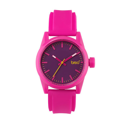 Breo Polygon Watch - Pink