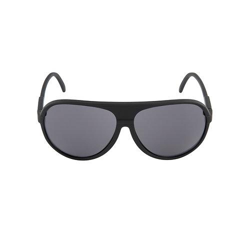 Breo Ellipse Rubber Sunglasses - Black