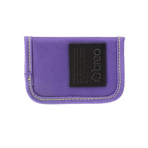 Breo Kredit Canvas Wallet - Purple