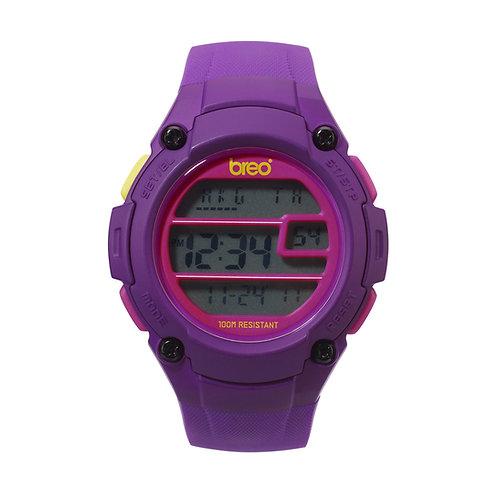 Breo Zone Digital Watch - Purple