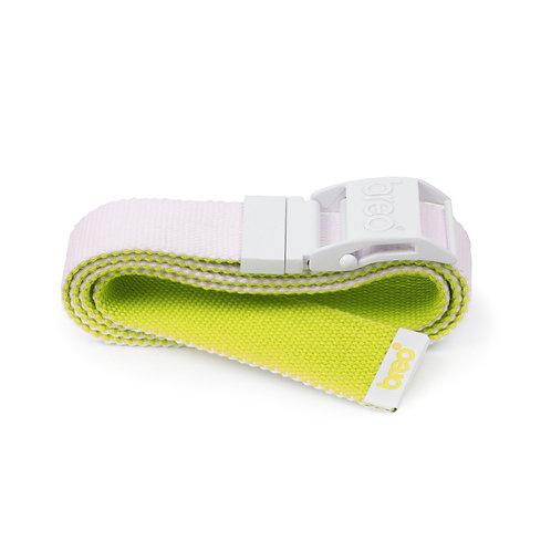 Breo Reversible Belt - White/ Lime Green